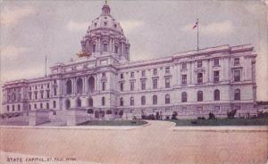 Minnesota Saint Paul State Capitol 1910