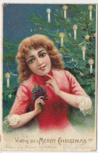 CHRISTMAS , Girl , 1907