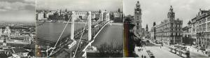 Hungary Budapest Liberation Square Elisabeth Bridge tramways 1960s
