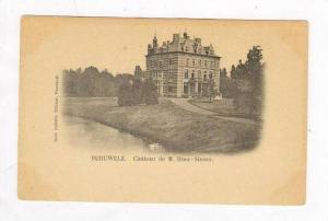Péruwelz , Hainaut, Belgium, Chateau de M Duez-Simon, 1890s