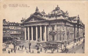 Belgium Brussels La Bourse 1946