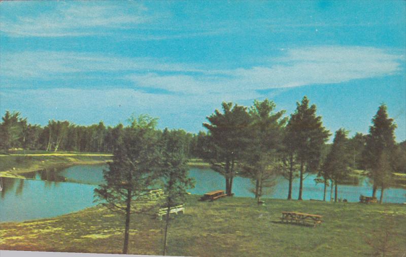 Lac Des Pines, Camping, Pique-niques, Montreal, Quebec, Canada, PU-1970