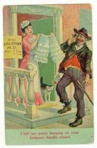 Hobo Comic, Miss Anna Brown MD, PU-1915