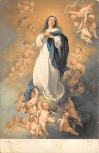 Stengel Publisher of Art Post Card L'Immacculee Conception Unused