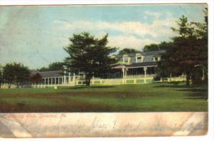 SCRANTON, Pennsylvania, PU-1907; County Club
