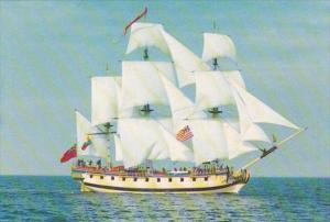 Connecticut Groton Revolutionary War Frigate H M S Rose