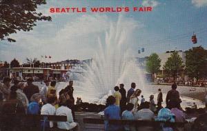 Internation Fountain Seattle Washington Seattle Warlds Fair 1962