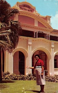 Nacanieli Daniel Vunibola, Grand Pacific Hotel Suva Fiji 1970