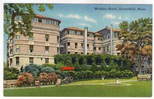 Greenfield, Mass, Weldon Hotel
