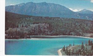 Scenic view,  Rainbow Lake near Whitehorse,  Yukon,    Canada,   40-60s