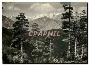 Postcard Modern Col de Sorba Corsica Chain Monte Oro