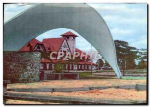 Modern Postcard Pointe Noire station CFCO