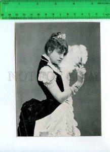 294174 Eleonora DUSE Italian DRAMA ACTRESS 1926 year printed PHOTO