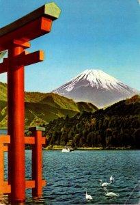 Japan Hakone National Park Mount Fuji