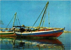 PC CPA SAUDI ARABIA, JEDDAH, THE OLD FISHING HARBOUR, Modern Postcard (B3803)