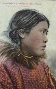 Alaska Native From Cape Prince Of Wales