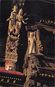 BT12001 Artistic wooden balcony and artistic strut Kathmandu durbar square Nepal