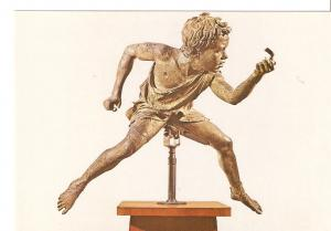 Postal 043759 : Athens. National Museum. Thera. Jockey from Artemision