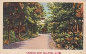 Michigan Greetings From Bolton