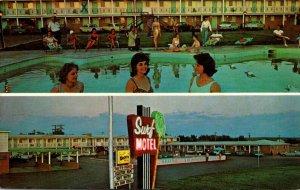 New Mexico Santa Rosa The Surf Motel 1969
