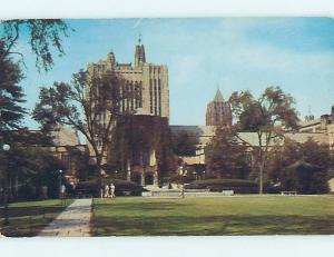 Pre-1980 STERLING LIBRARY AT YALE UNIVERSITY New Haven Connecticut CT L7665