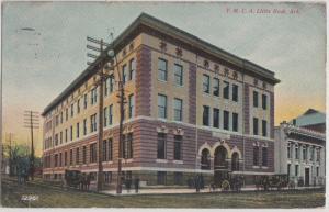 Little Rock AR - YMCA located at corner of Capitol & Scott Streets 1900s -