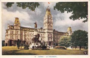 10078 Quebec, Le Parlement