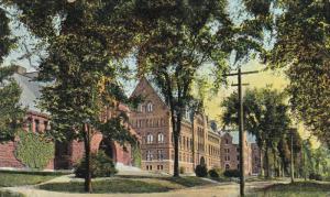 College Row- University Of Vermont, Burlington, Vermont, 1900-1910s