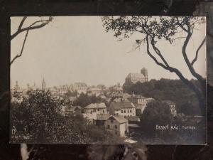 Mint Prague Czech Republic Real Picture Postcard Turnov