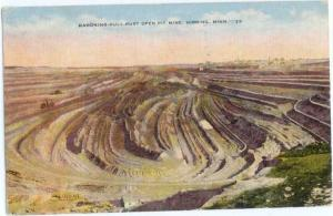 Linen of Mahoning-Hull Open Pit Mine Hibbing Minnesota MN