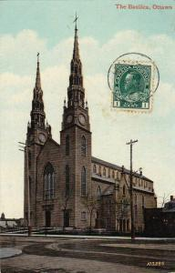The Basilica, Ottawa, Ontario, Canada, PU-1913