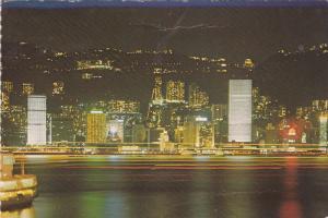 Night Scene, HONG KONG, China, PU-1983