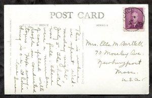 dc168 - RIVIERE MADELEINE Quebec 1950 Hotel Real Photo Postcard