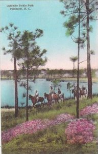 North Carolina Pinehurst Lakeside Path Albertype