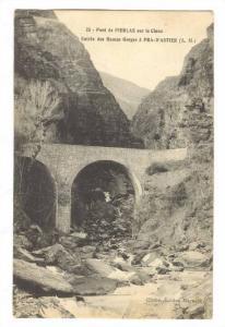 Pont de PIERLAS sur le Cians,France,00-10s