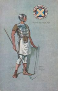 Roman Soldier 303 St Albans Pageant Tucks Oilette Costume Postcard
