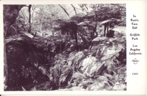 LOS ANGELES CA - Rustic Farm Dell at Griffith Park, 1940s