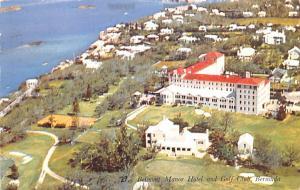 Bermuda, Somers Isles Belmont Manor Hotel and Golf Club  Belmont Manor Hotel ...