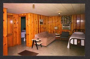 KY Wisdoms Fishing Camp Cabins ALBANY KENTUCKY Postcard