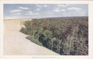 Sand Hill At Cape Henry Virginia