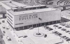 PHILADELPHIA , Pennsylvania , 40-50s ; New Evening & Sunday BULLETIN Newspaper