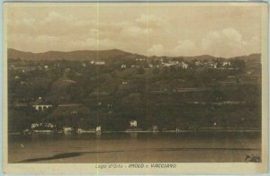 91037 - CARTOLINA d'Epoca - NOVARA Provincia  - Lago Orta IMOLO e VACCIAGO