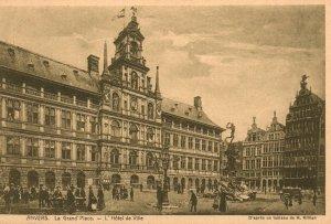 Le Grand Place,L'Hotel,Antwerp,Belgium BIN