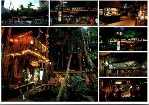 Hawaii Waikiki The International Market Place On Kalakaua Avenue