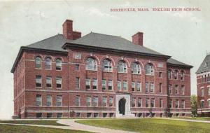 Massachusetts Somerville English High School 1908
