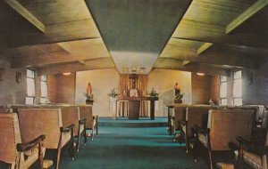 CLINTON, Ohio, 1940-60s; Chapel, Loyola of the Lakes, Jesuit Retreat House