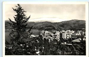 *Beyrouth Beirut City View Lebanon Jordan Jerusalem Vintage Photo Postcard B43