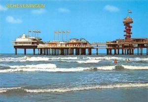 Netherlands Scheveningen Plage Promenade Beach The Pier