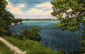 Minnesota St Paul Scene Along Lake Phalen 1948