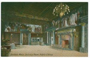 3172  MA  Boston   Delivery Room, Public Library